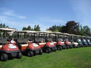 Golf vehicles