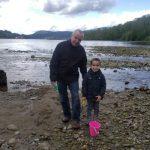 Grandpa with his grand son